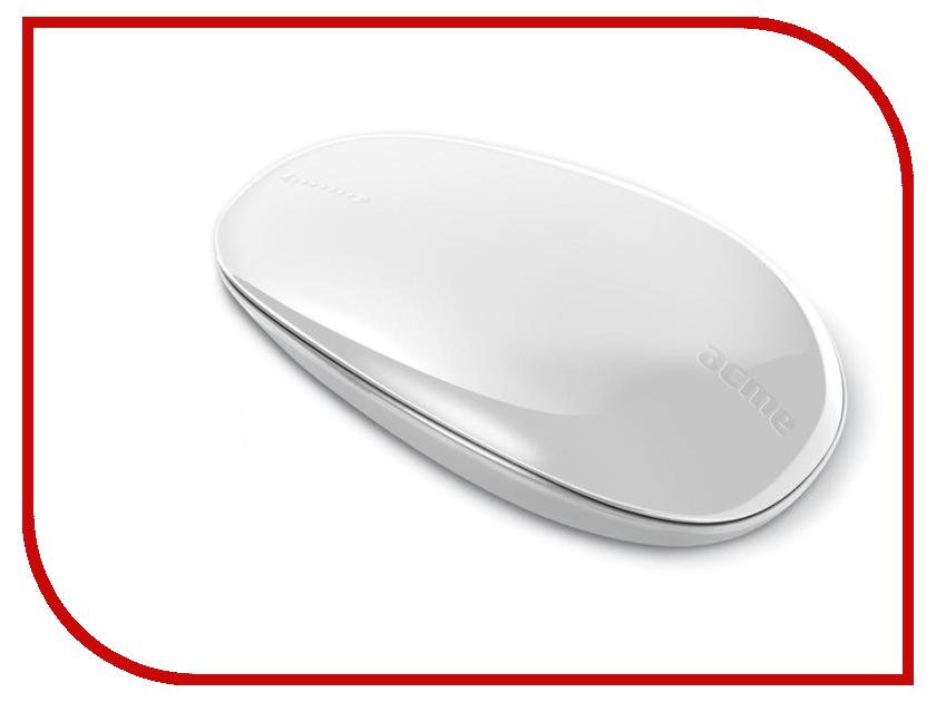 Мышь беспроводная Acme MW09W USB White