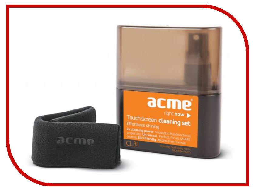 Аксессуар Acme CL31 Набор для чистки сенсорных экранов<br>