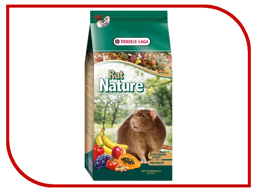 Versele-Laga Rat Nature Premium 750g для крыс 271.16.461370/461370 ontario knife rat 1