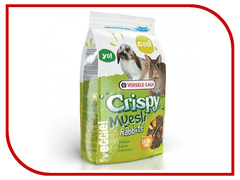 Корм Versele-Laga Crispy Muesli Rabbits 1kg для кроликов 271.16.617014/461701