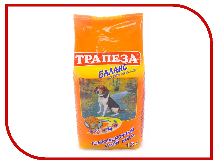 Корм Трапеза Баланс 13kg для собак 201003058<br>