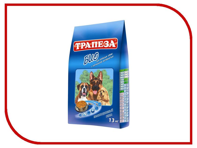 Корм Трапеза Био 13кг для собак 29600/701368 корм сухой трапеза био для собак с нормальной активностью 13 кг