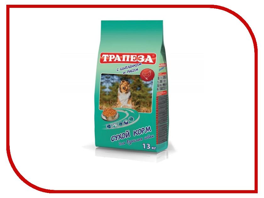 Корм Трапеза Цыпленок/Рис 13kg для собак 59887 купить корм для собак дешево воронеж