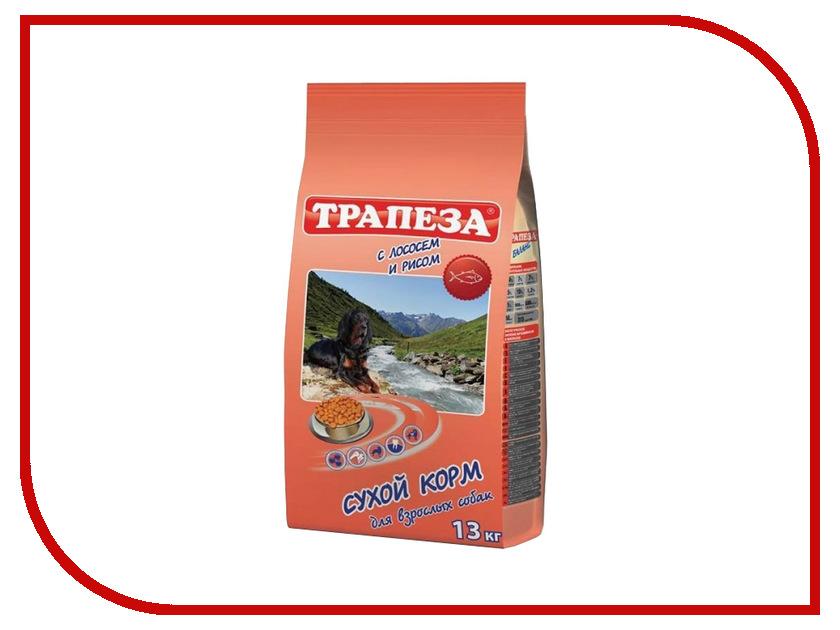Корм Трапеза Лосось/Рис 13kg для собак 59888<br>