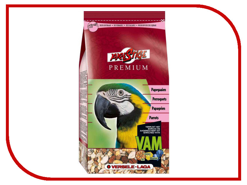 Корм Versele-Laga Premium Parrots 1kg для крупных попугаев 271.14.4219966/421996