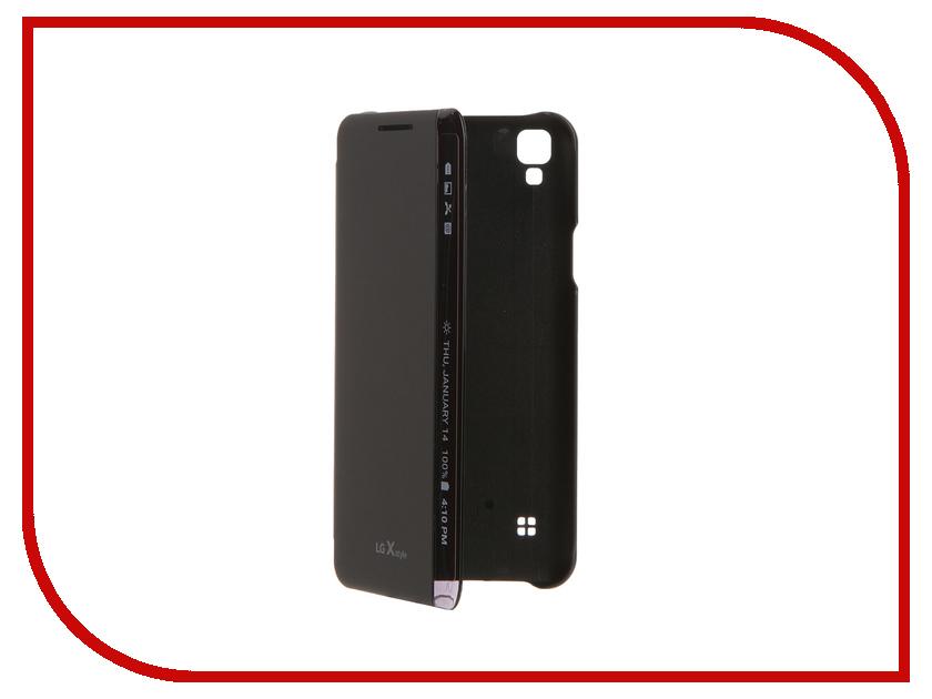 Аксессуар Чехол LG K200 FlipCover Black LG-CFV-220.AGRATB<br>