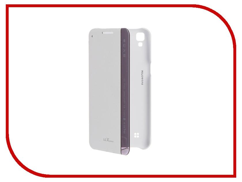 Аксессуар Чехол LG K220 FlipCover White LG-CFV-230.AGRAWH<br>