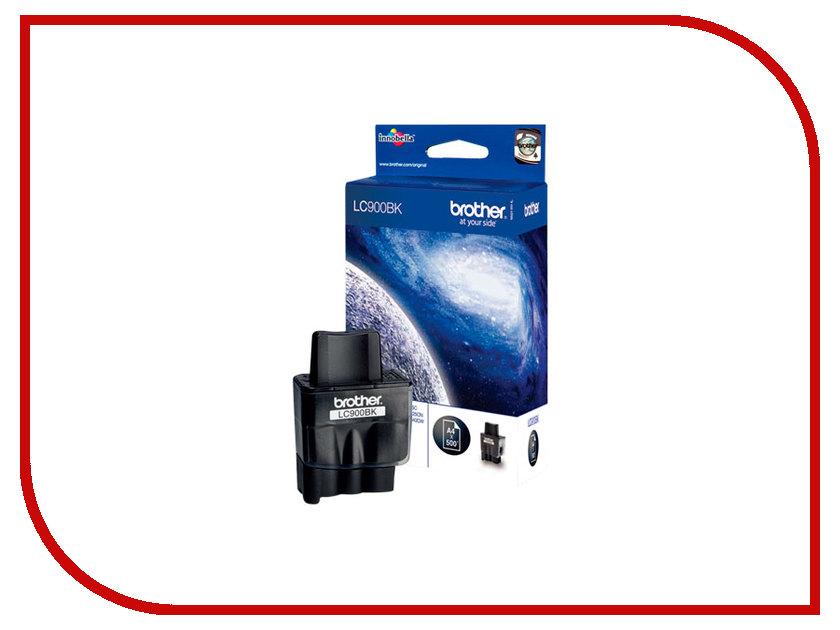Картридж Brother LC900BK Black для DCP110/115/120/MFC210/215/425CN/FAX-1840C<br>