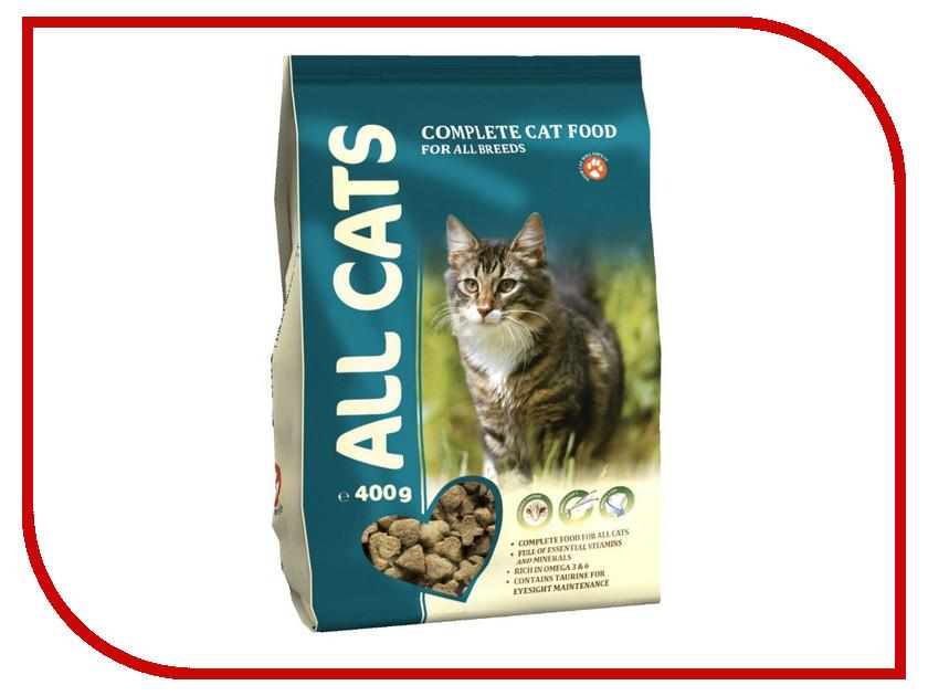Корм ALL CATS Полнорационный 0.4kg для кошек