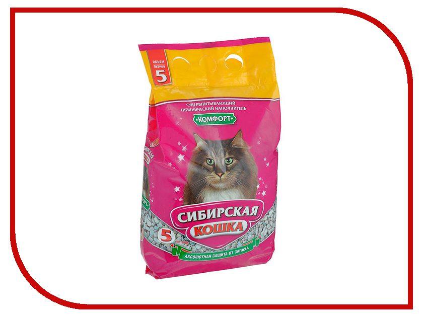 Наполнитель Сибирская Кошка Комфорт 5l 0091<br>