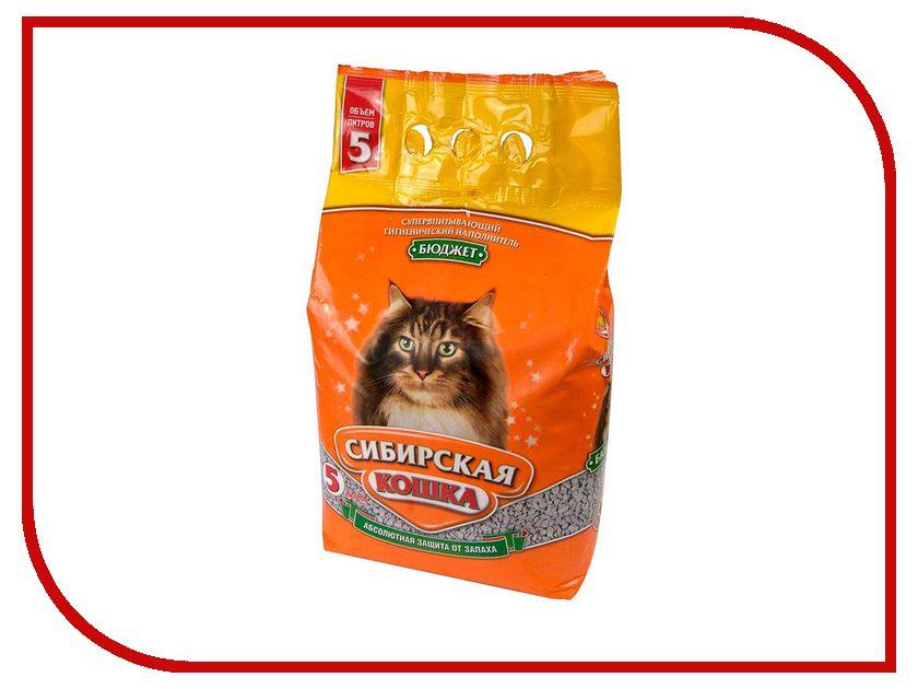 Наполнитель Сибирская Кошка Бюджет 5l 0114<br>