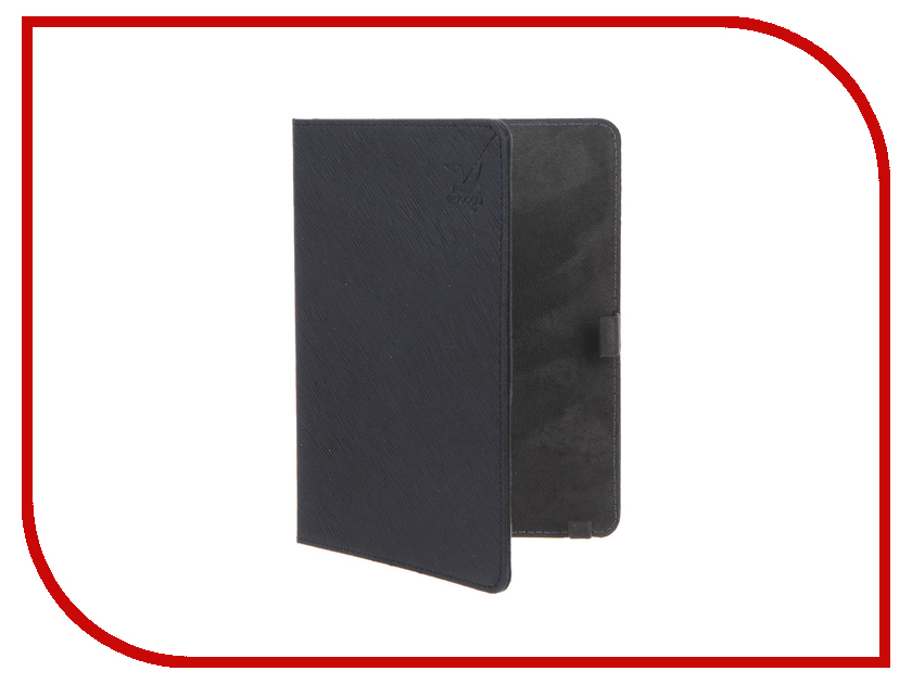 Аксессуар Чехол for Reader Book 1 Snoogy иск. кожа Black SN-RBook1-BLK-LTH
