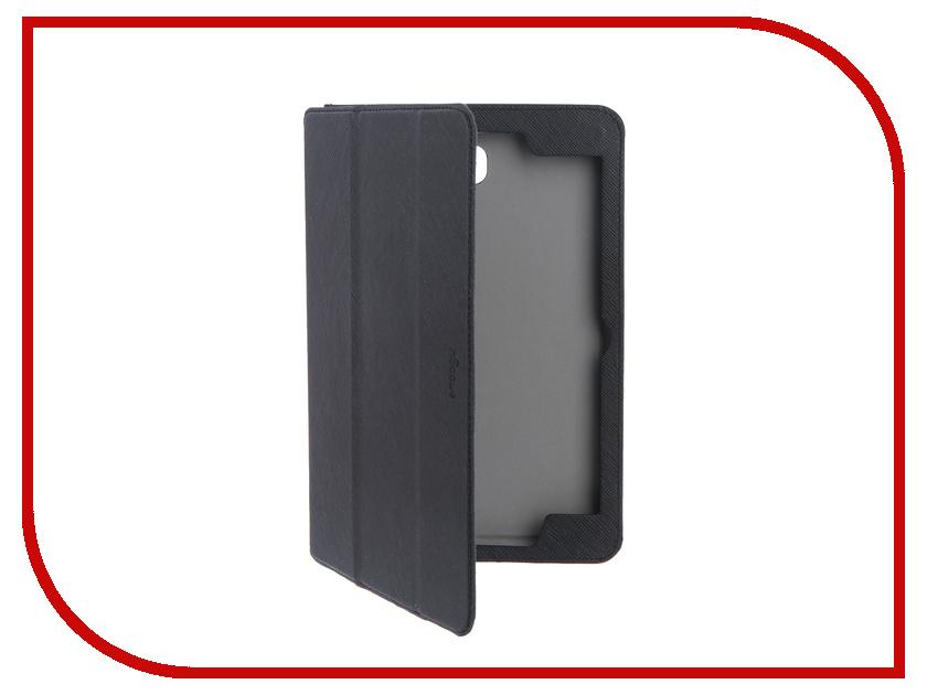 Аксессуар Чехол для Samsung Galaxy Tab A 8.0 SMT-355 Snoogy иск. кожа Black SN-SGTA8-SMT355-BLK-LTH