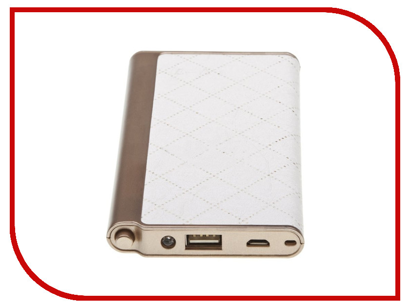 Аккумулятор Liberty Project Power Bank Fashion LV7 Plus 8000 mAh 0L-00027436 White Cage<br>