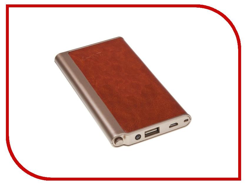 Аккумулятор Liberty Project Power Bank Fashion LV7 Plus 8000 mAh 0L-00027438 Brown<br>