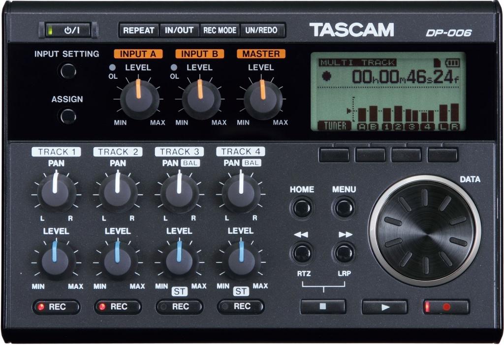 Диктофон Tascam DP-006