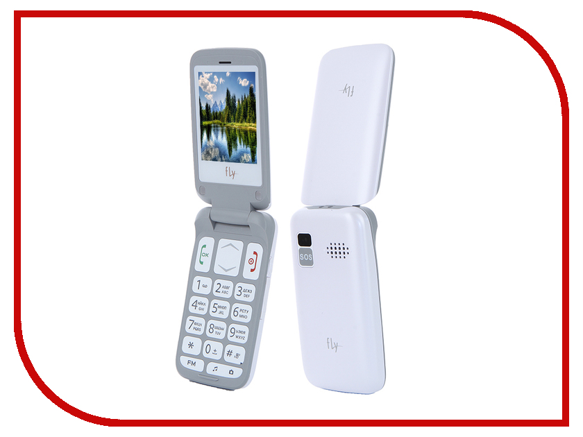 Сотовый телефон Fly Ezzy Trendy 3 White смартфон fly fs507 cirrus 4 white