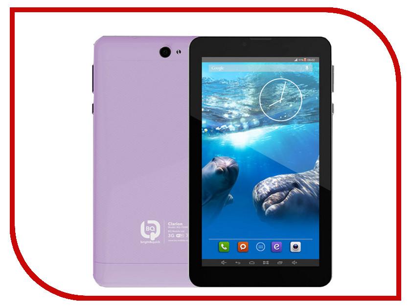 Планшет BQ BQ-7008G CLARION Metallic Purple Spreadtrum SC5735 1.2 GHz/512Mb/4Gb/Wi-Fi/3G/Bluetooth/GPS/Cam/7.0/1024x600/Android