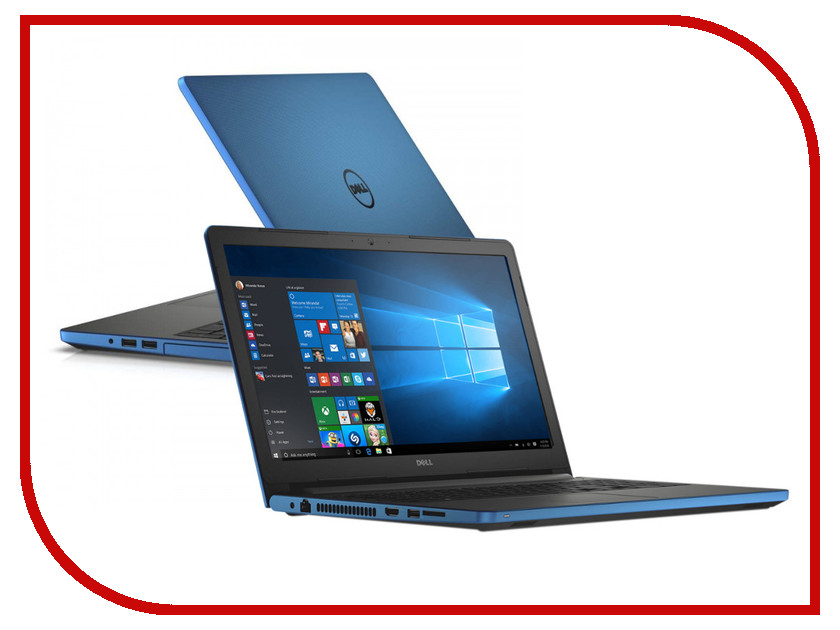 Ноутбук Dell Inspiron 5558 Blue 5558-9754 Intel Core i3-5005U 2.0 GHz/4096Mb/1000Gb/DVD-RW/nVidia GeForce 920M 2048Mb/Wi-Fi/Bluetooth/Cam/15.6/1366x768/Linux 359704<br>