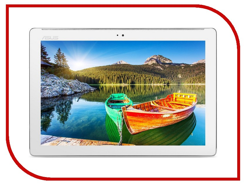 Планшет ASUS ZenPad 10 Z300M-6B055A White 90NP00C2-M01670 (MTK8163 QC 1.3GHz/1024Mb/16Gb/Wi-Fi/Cam/10.1/1280x800/Android)