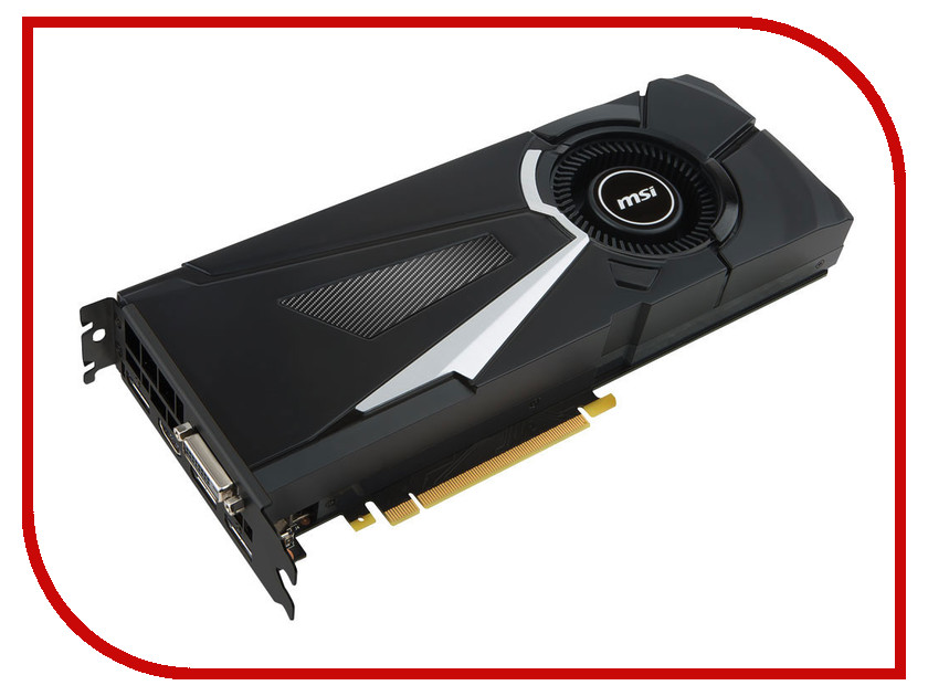 Видеокарта MSI GeForce GTX 1070 1531Mhz PCI-E 3.0 8192Mb 8008Mhz 256 bit DVI HDMI HDCP GTX 1070 AERO 8G OC купить geforce gtx 980 msi