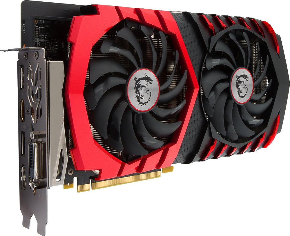 Видеокарта MSI GeForce GTX 1060 1594Mhz PCI-E 3.0 6144Mb 8100Mhz 192 bit DVI HDMI HDCP GAMING X 6G