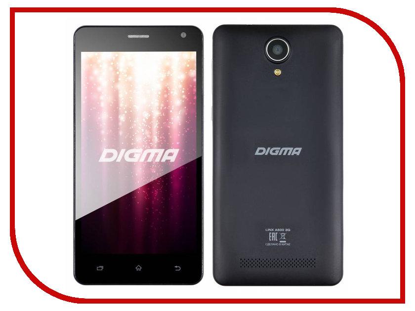 Сотовый телефон Digma Linx A500 3G сотовый телефон digma linx a400 3g graphite