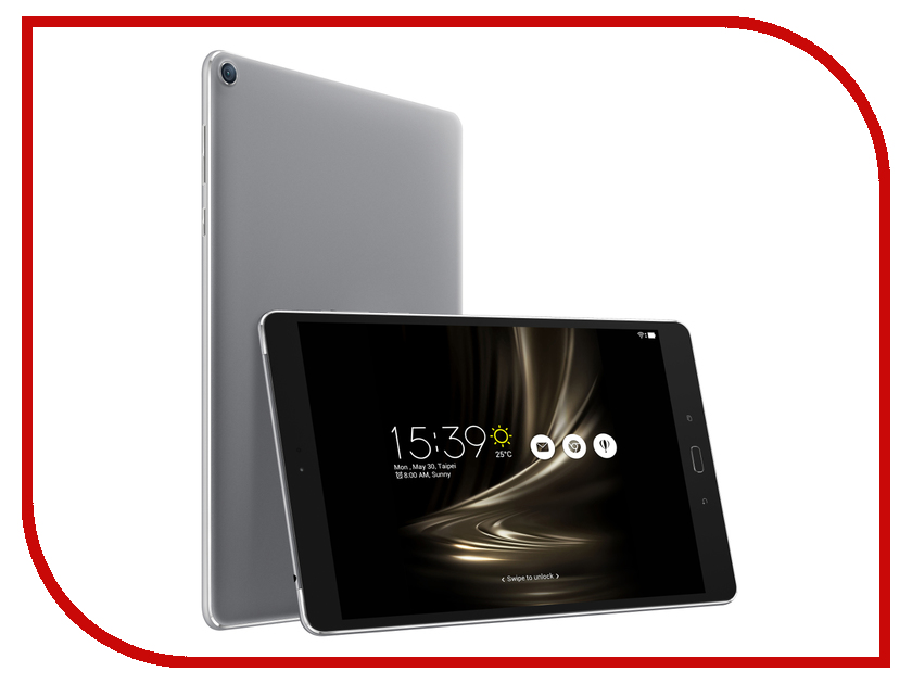 Планшет ASUS ZenPad 3S 10 Z500M-1H023A Grey 90NP0272-M00450 (MTK 8176 1.7 GHz/4096Mb/64Gb/Wi-Fi/Cam/9.7/2048x1536/Android)