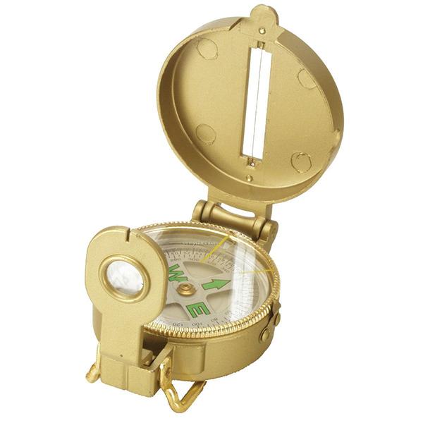 Компас Kromatech жидкостной туристический 48mm Gold с крышкой