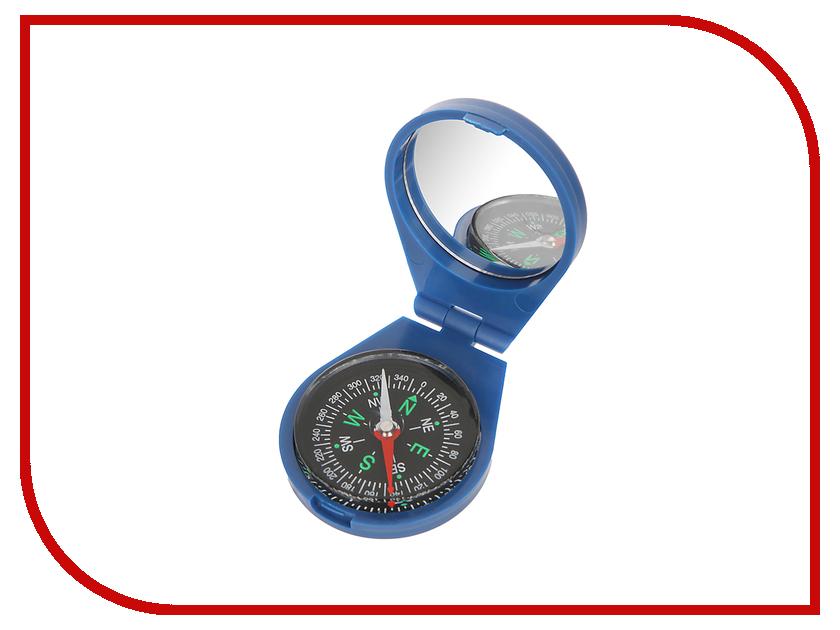 Компас Kromatech жидкостной 45mm Blue с крышкой и зеркалом<br>