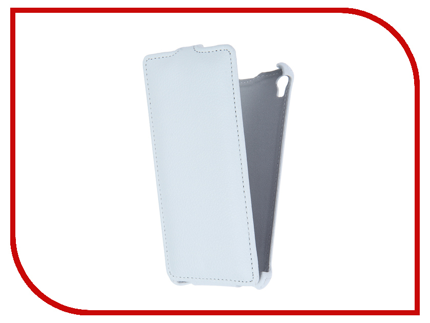 Аксессуар Чехол-флип Sony Xperia E5 F3311 Gecko White GG-F-SONE5-WH<br>