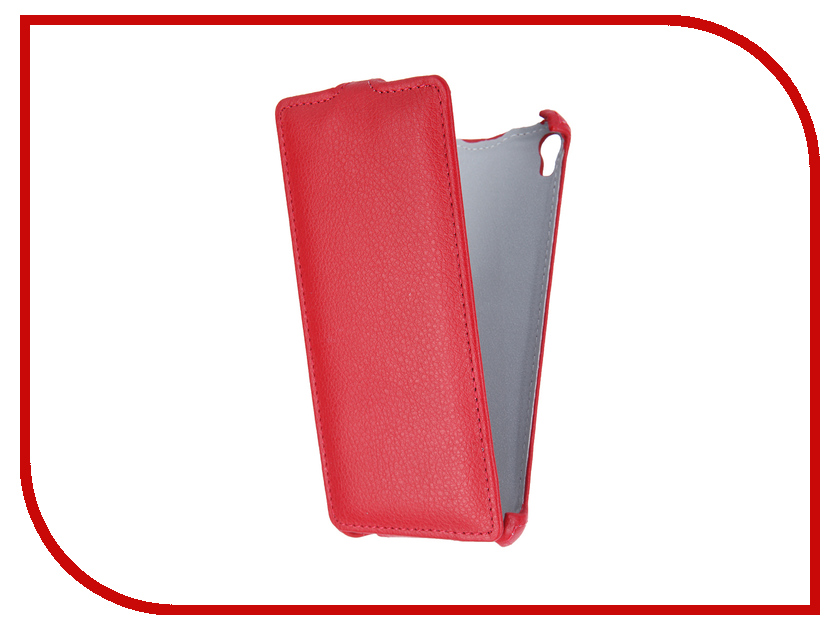 Аксессуар Чехол-флип Sony Xperia E5 F3311 Gecko Red GG-F-SONE5-RED<br>