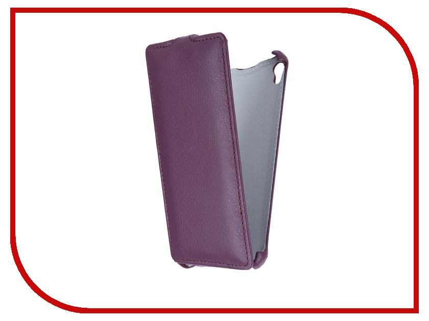 Аксессуар Чехол-флип Sony Xperia E5 F3311 Gecko Violet GG-F-SONE5-VIO<br>