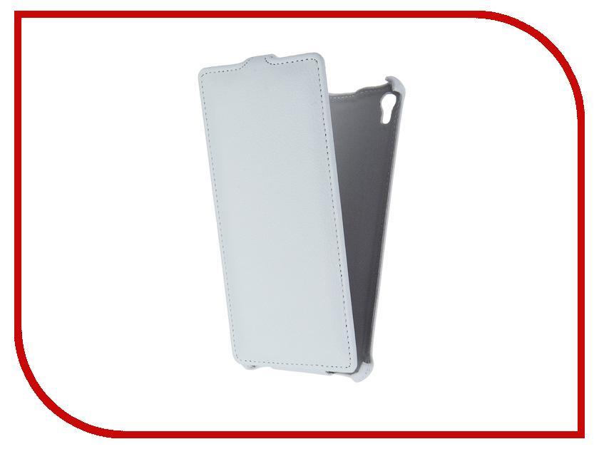 Аксессуар Чехол-флип Sony Xperia XA Ultra F3216 Gecko White GG-F-SONXAU-WH аксессуар чехол sony xperia c5 ultra activ black mat 52447
