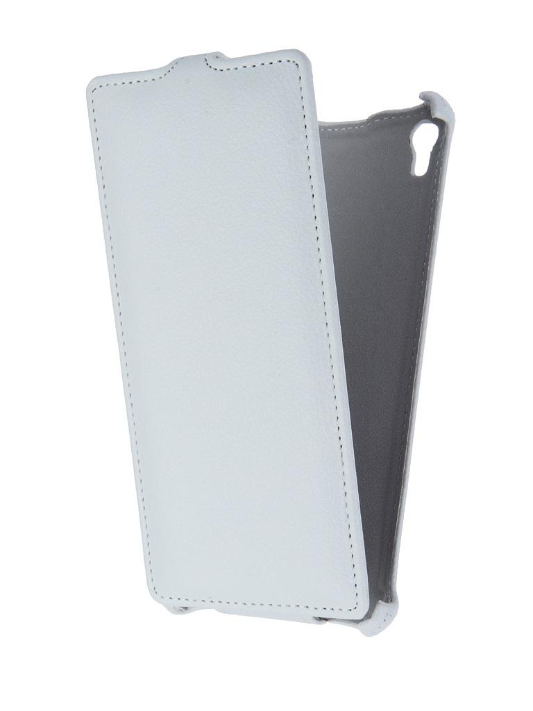 цены Чехол-флип Gecko для Sony Xperia XA Ultra F3216 White GG-F-SONXAU-WH