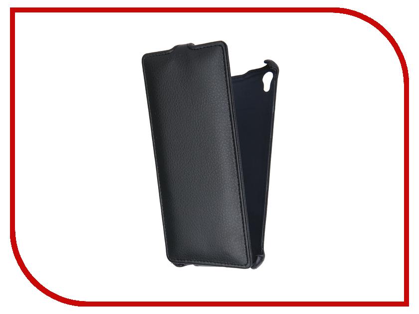 Аксессуар Чехол-флип Sony Xperia XA Ultra F3216 Gecko Black GG-F-SONXAU-BL<br>