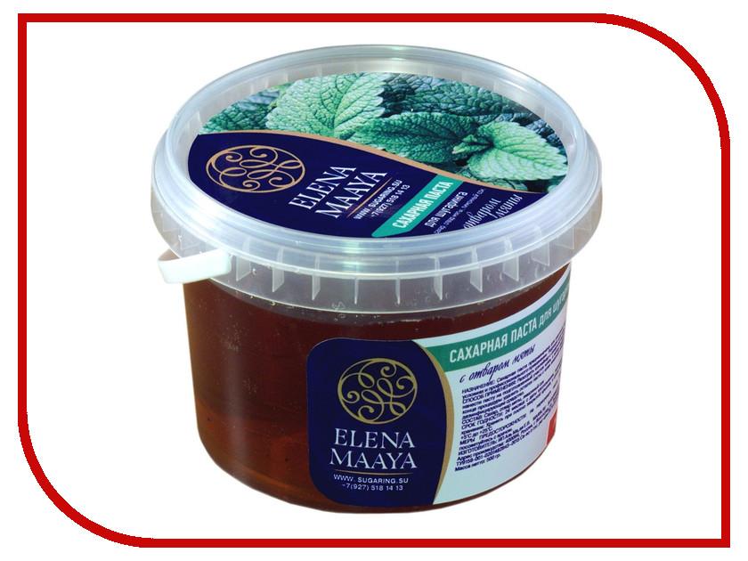 Домашний шугаринг Elena Maaya Сахарная паста с отваром мяты Medium