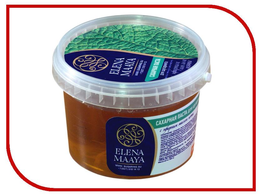 Домашний шугаринг Elena Maaya Сахарная паста с эфирным маслом мяты Medium<br>
