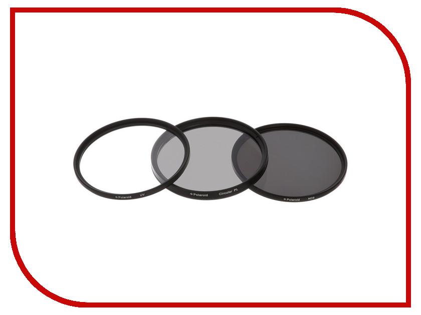 Светофильтр Polaroid UV-CPL-ND9 40.5mm - набор фильтров PL3FILND40.5<br>