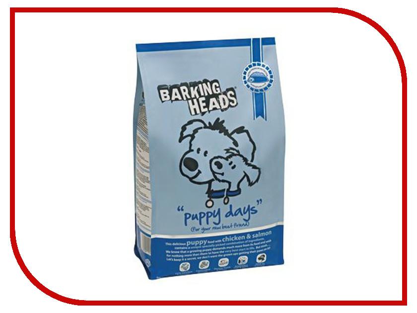 Корм Barking Heads Курица/Лосось/Рис 2kg для щенков 0155/18096<br>