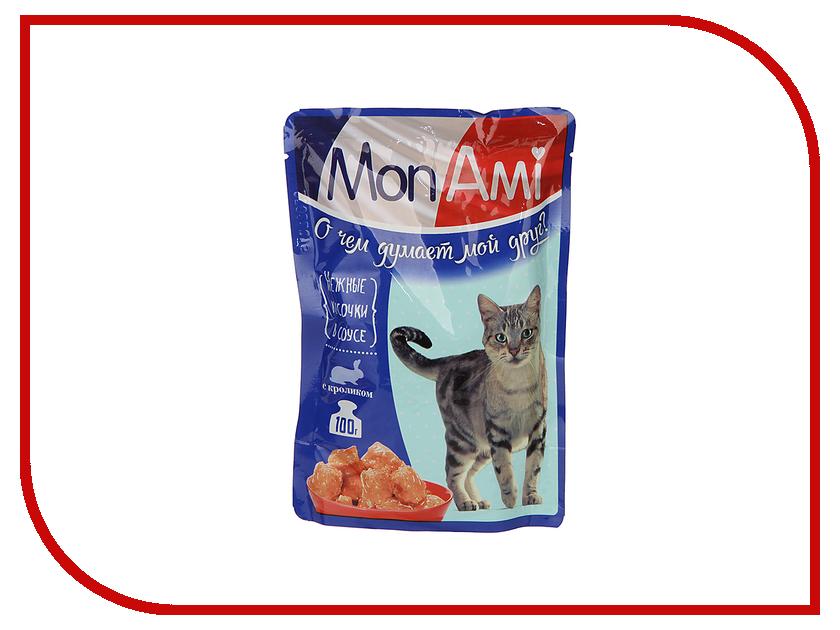 Корм MonAmi Кролик 100g для кошек 201002116/3494