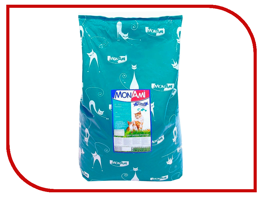 Корм MonAmi Морской коктейль профилактика МКБ 10kg для кошек 03420
