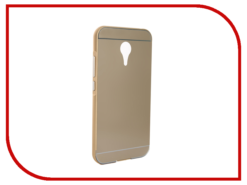 Аксессуар Чехол Meizu MX5 Apres Aluminum Protective Back Case Gold