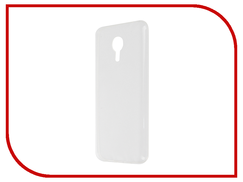 Аксессуар Чехол Meizu MX5 Apres Silicone Protective Back Case Transparent
