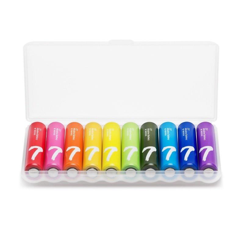 Батарейка AAA - Xiaomi Rainbow ZI7 Colors (10 штук)