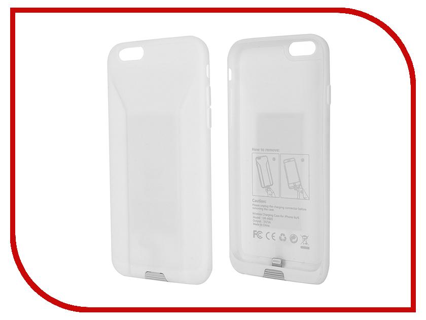 Аксессуар Чехол Mango Device QI Wireless Charger для APPLE iPhone 6/6S White MDR-A601W<br>