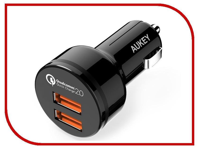 Зарядное устройство Aukey Device 2xUSB CC-T6