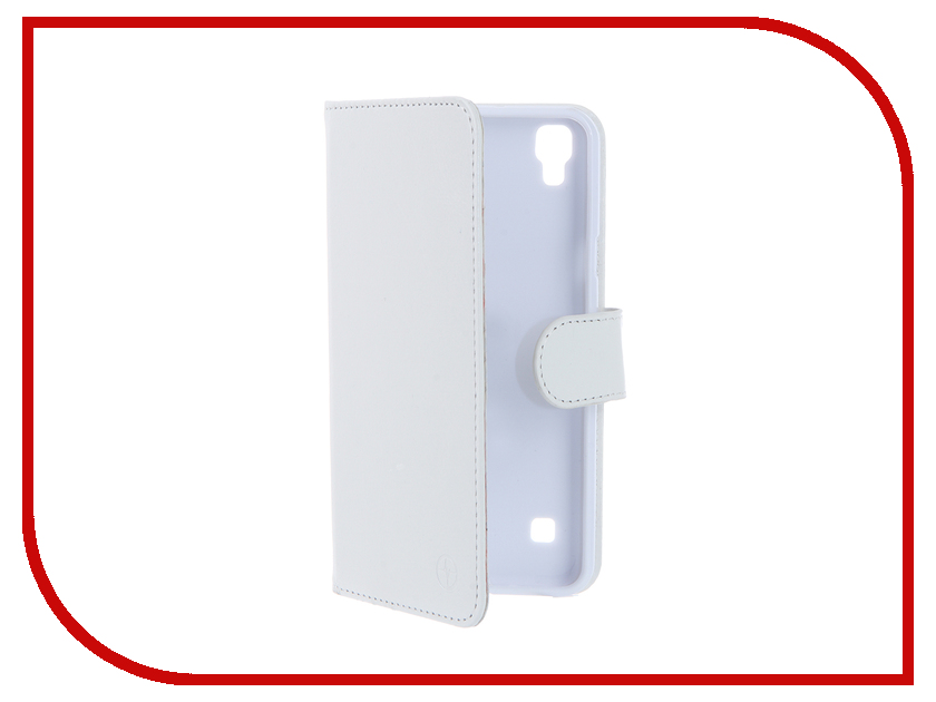 Аксессуар Чехол LG X Style Pulsar Wallet Case White PWC0024<br>
