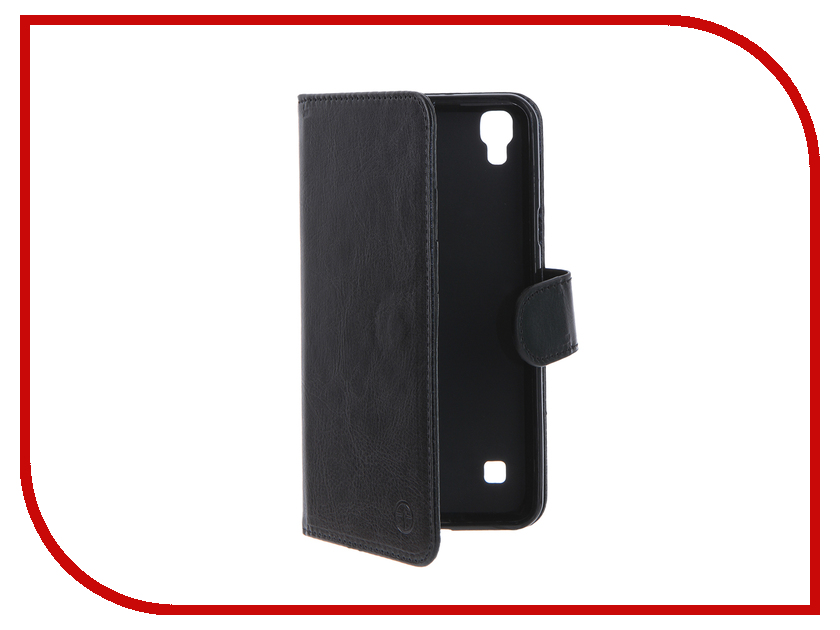 Аксессуар Чехол LG X Style Pulsar Wallet Case Black PWC0023<br>