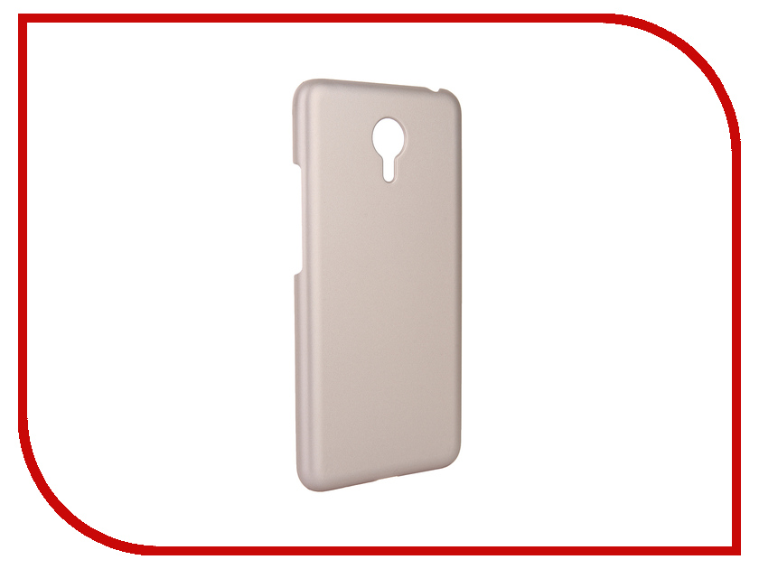 Аксессуар Чехол Meizu M3 Note Pulsar Clipcase PC Soft-Touch Gold PCC0203<br>